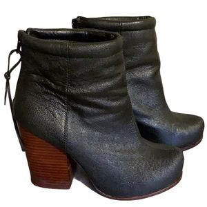 Jeffrey Campbell Black Booties - Women's Size 37